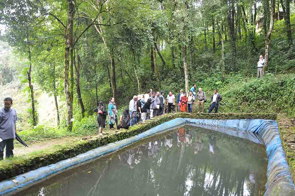 ICIMOD park Nepal